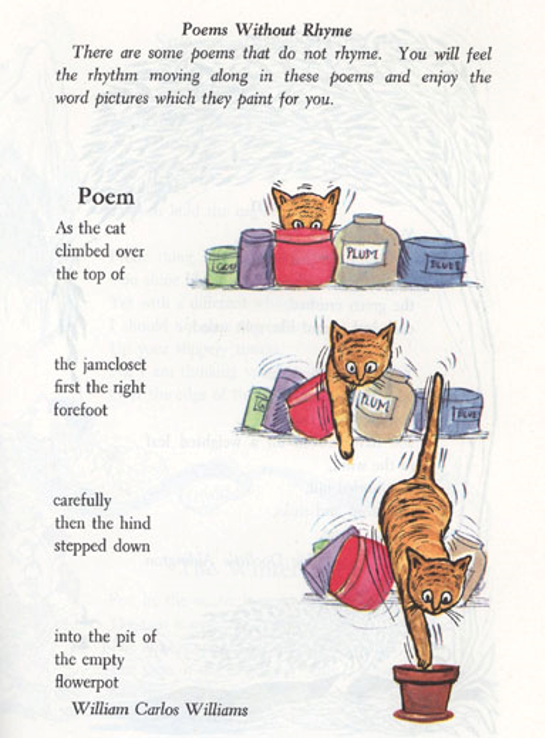 """As The Cat,"" in Along Story Trails."